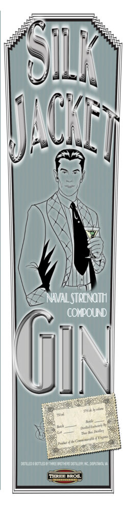 Silk Jacket Naval Strength Gin Product