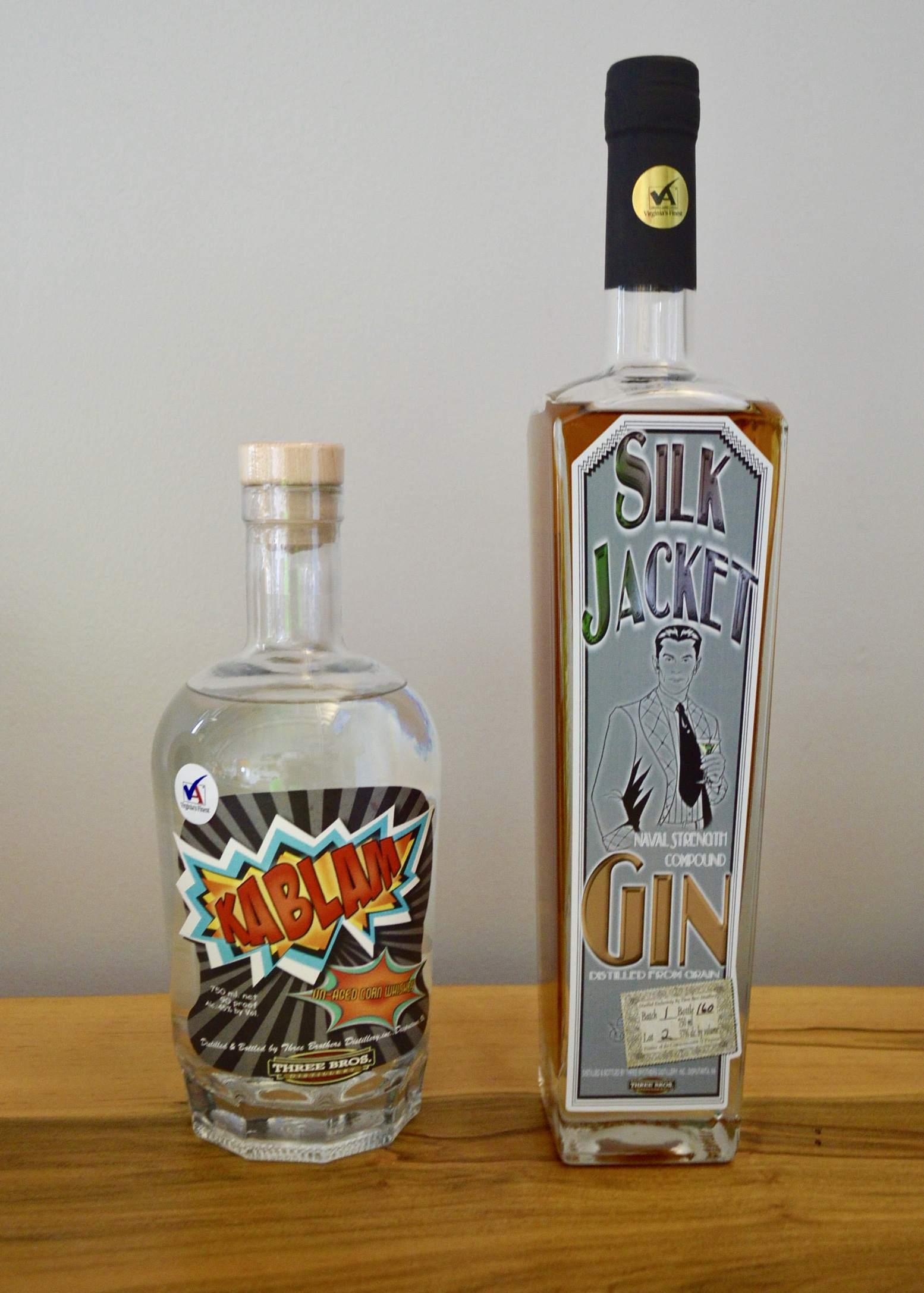 Silk Jacket Gin - Three Brothers Whiskey Distillery